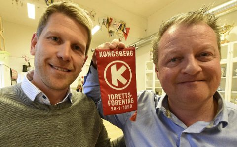 DAGLIG LEDER: Marius Berg (t.v.) er ansatt som daglig leder i KIF, noe KIFs leder Jørn Vidar Nygård er veldig fornøyd med.