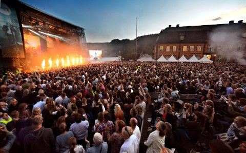 INGEN FOLKEFEST I ÅR: Det blir ingen store folkemasser på Kirketorget i juli i år.