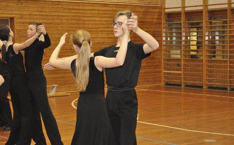 Vil BLI PROFF: Ole-Gunnar Eriksen satser på å bli profesjonell danser.