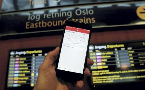Billettforvirring: Hvis man allikevel må bytte tog i Asker, er det penger å spare på trekningen Lier – Gardermoen. Illustrasjonsfoto: Lise Åserud / NTB scanpix