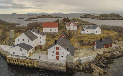 Vakthusøya: Vakthusøya er ett av prosjektene som mottar midler fra Riksantikvaren til bygningsvern. Foto: Arkiv