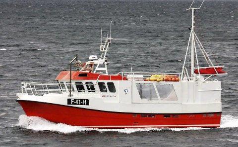 NYTT: «Segelstein» blir navnet på den siste tilveksten til fiskeflåten i Flakstad. Foto brukt med tillatelse fra Maritim Compence