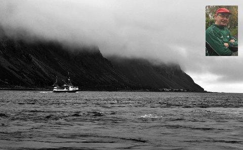Bjørn Sturla Horn (innfelt) er leder i Lofoten Fritidsfiskarlag.