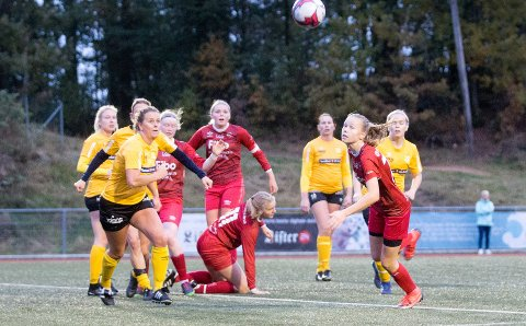 LYNGDAL STADION: Onsdag 2. september spiller Lyngdals damelag sin andre fotballkamp denne sesongen.