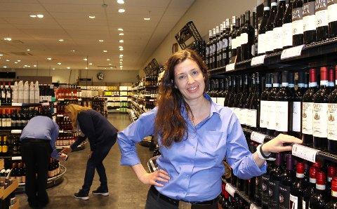 Fornøyd. Nestleder ved polet på Rygge Storsenter, Ragnhild Bredal, er fornøyd med salget.