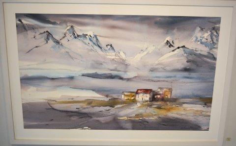 KJENNER DU DEG IGJEN? Folk gjenkjenner steder i Nord-Norge i Endresens bilder, selv om alt er malt ut fra kunstnerens hode.