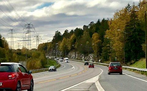 INNFARTSVEIEN: Statens vegvesen vil bygge en ny sykkelvei mellom Tigerplassen og Noreløkka.