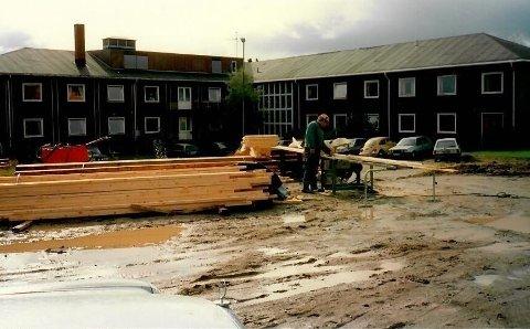 1969-1971: Byggingen av Namdal Interkommunale Sykeheim på Bjørum.