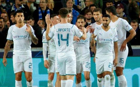 STORSEIER: Manchester City hadde full kontroll mot Club Brugge.