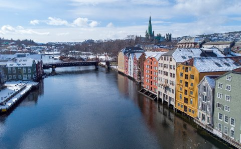Per nå er smittetallet i Trondheim 23 tilfeller per 100.000 innbygger.