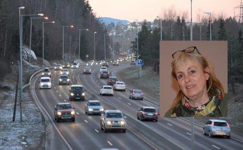 NASJONALT ANSVAR: Britt Inglingstad (V) og fem andre gruppeledere i Østensjø bydelsutvalg ber på vegne av sine partier nå Stortinget om prioritere prosjektet E6 Oslo øst, selv om byrådet i Oslo sier nei.