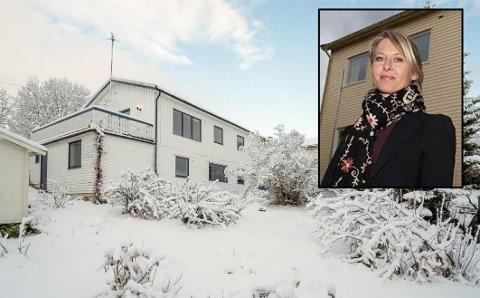 BUDKRIG: Huset på Gimle i Tromsø gikk til slutt én million over prisantydning. Det er sjeldnere og sjeldnere Tromsø er vitne til slike budrunder, sier megleren.