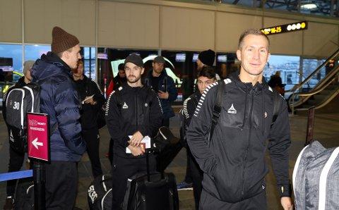 SKUFFET: Morten Gamst Pedersens smil er som regel ikke langt unna, men finnmarkingen legger ikke skjul på at han gjerne hadde sett at Gjermund Åsen ble værende i TIL i 2019. 37-åringen tror Åsen kan bli årets spiller i eliteserien 2019 som Rosenborg-spiller.