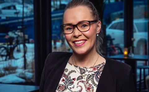 TØFF UKE: Hotelldirektør Ida Kristine Jakobsen på The Edge har hatt en beintøff uke med permitteringer og unntakstilstand. Samtidig har det vært noen stolte opplevelser.