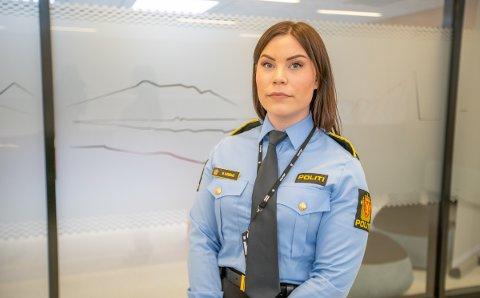NY RAZZIA: Politiadvokat Malene Kjemsaas i Troms politidistrikt forteller at det ble gjennomført razzia i Tromsø tirsdag. Ytterligere en person er nå siktet.