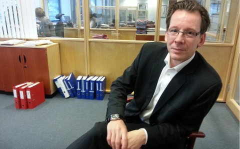 Yngve Haldorsen, ny sjef i Coop Nord.