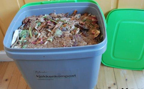 TEMAMØTE: Hageselskapet Gjøvik har temamøte torsdag om en ny metode for innendørs kompostering.
