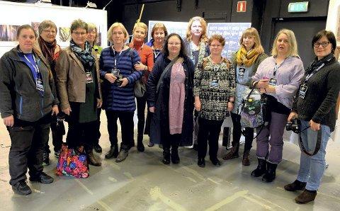 Premieren: Glade damer på utstilling i Västerås i februar.