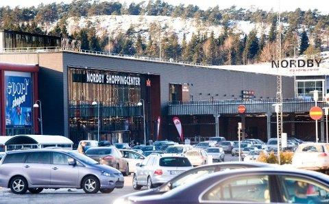 BLØR: Svenskene blør når det gjelder næringslivet, og spesielt ved Nordby på Svinesund har omsetningen nærmest stanset opp.