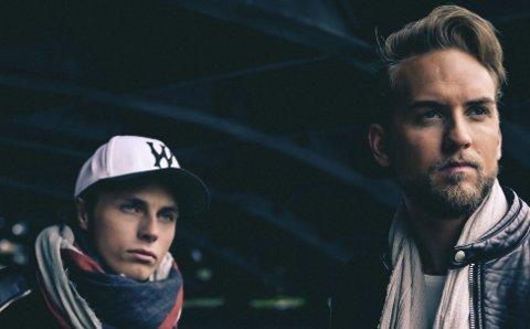 AVSLUTTER LØRDAG: Mikkel Christiansens og Simen Auke er DJ- og produsentduoen Broiler.