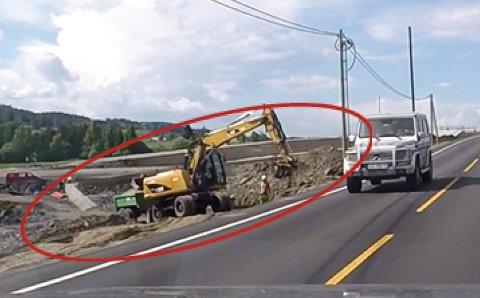 FARLIG: Manglende langsgående sikring er ett av problemene som er avdekket. (Foto: Statens vegvesen)