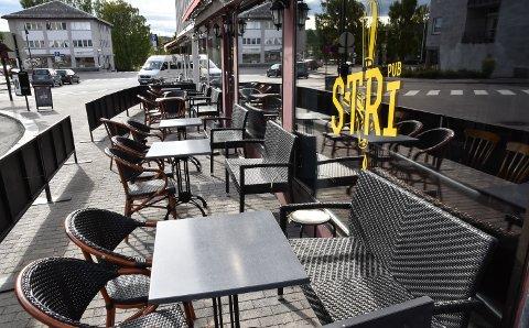 STENGT: Stri Pub hadde siste åpningsdag lørdag. Mandag ble det åpnet konkurs i driftsselskapet.