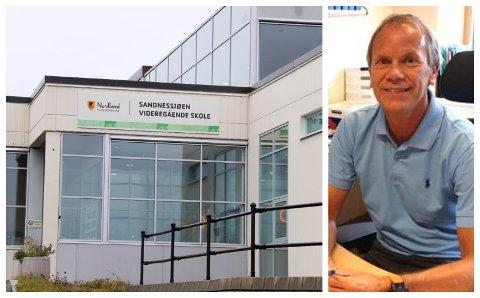 NY REKTOR: Arne Tømmervold blir fra høsten av å finne i Sandnessjøen som rektor på videregående skole.