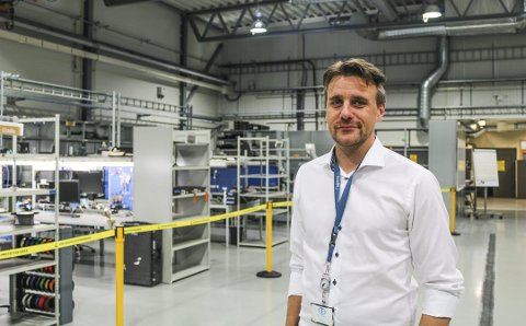 – MÅLET ER FORTJENESTE: I løpet av 2020 håper Thomas Berge Nielsen at Rheinmetall skal levere årsresultat på pluss-siden.