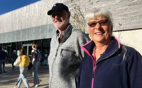 HEMMELIG: Bjørn Jakobsen og Hanne Solberg holder fast ved prinsippet om hemmelig valg, på alle vis.