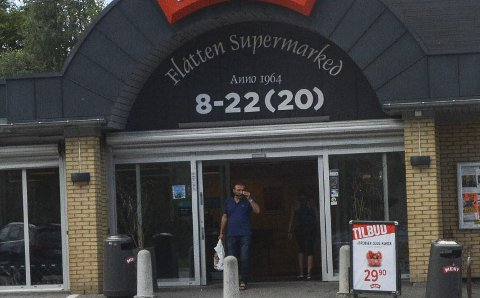 BLIR STØRRE: Flåtten supermarked trenger større plass og har søkt om dispensasjon.