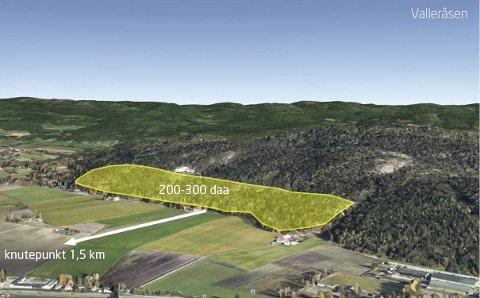 NEI IGJEN: To departementer har nå sagt nei til boligbygging i Valleråsen, men fortsatt er det uvisst hva det tredje departementet vil lande på i saken.