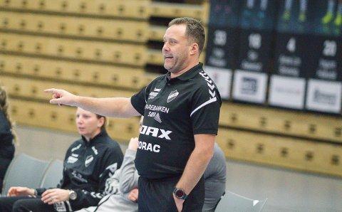 TROR SESONGEN RYKER: Pors-trener Paul Gundersen.