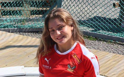 Sarah Mikkelsen er første fra Brevik i internasjonalt mesterskap.