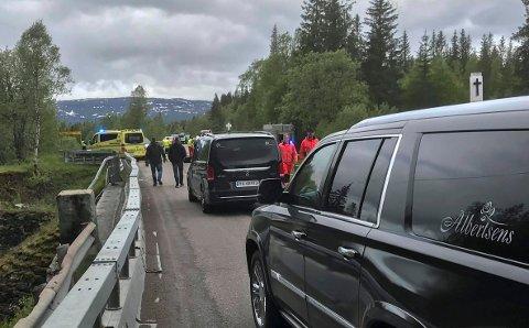 OMKOM: Ekteparet Jan og Sonja Pettersen fra Sleneset mistet livet i trafikkulykka ved Røli bru på fylkesvei 12.