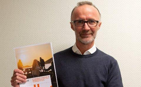 Nestleder i fylkesrådet, Svein Eggesvik (Sp), presenterte økonomiplanen for 2020-23 og budsjettet for 2020 tirsdag.