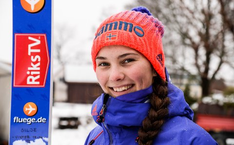 PÅ TVNORGE: Silje Opseth fra Holeværingen får sin OL-debut i Sør-Korea 12. februar. Den begivenheten kan du se på TVNorge midt på dagen.