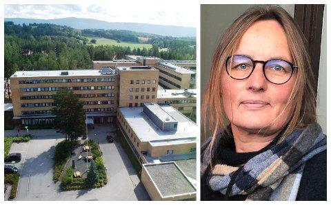 DØDSFALL: En person fra Ringerike døde på Ringerike sykehus forrige uke. De siste ukene har det vært en økning i antall ringerikinger som blir innlagt med koronasykdom, opplyser kommuneoverlege Karin Møller.