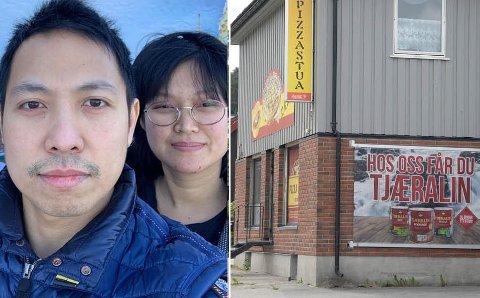 FLYTTER: Thamchot Kijlikit og kona Ilada Thongkhong åpner i Osloveien i mars.