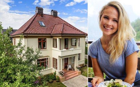 VEMODIG: I dette huset bodde Emilie Nerengs bestefar. Nå er huset til salgs.