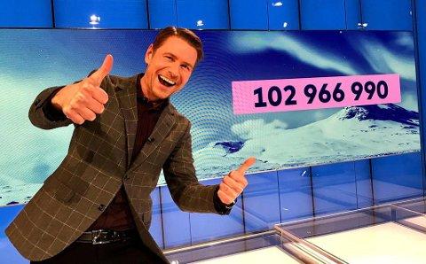 FOR EN PREMIE: En nordmann gikk helt til topps i onsdagens VikingLotto. Foto: Atle Onsrud Jensen/Norsk Tipping