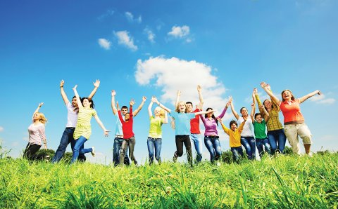 Large group of cheerful young people running in the nature with their arms wide open.   [url=http://www.istockphoto.com/search/lightbox/9786738][img]http://img830.imageshack.us/img830/1561/groupsk.jpg[/img][/url]