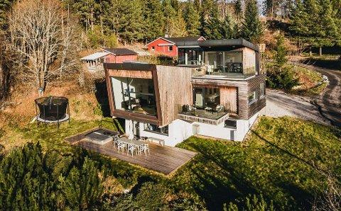 SOLGT: Sist gang boligen ble solgt tok det 260 dager. Denne gang tok det ti dager.