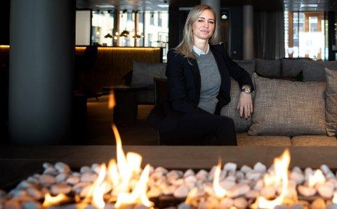 NYTT NAVN: Konsernsjef Lovisa Hegborn mener et internasjonalt hotellnavn er bedre.