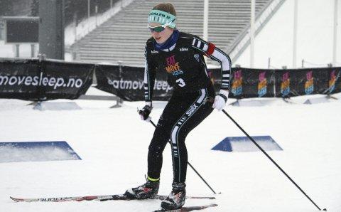 I TOPPEN: Tuva Skinnarland er en av flere Bødalen-rekrutter som hatt fin framgang i vinter. Tuva gjorde en flott figur i Kvalfoss-sprinten.