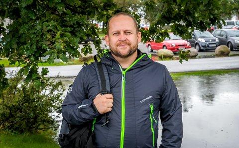 Ser fram til å bli flere: Odd Rune Langeland (MDG), gleder seg til å få flere aktive i lokallaget. Arkivfoto: Knut Nordhagen
