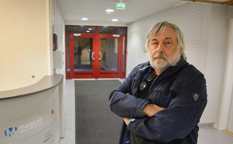 REAGERER: Hovedtillitsvalgt for Østfold fylkeskommune i Utdanningsforbundet, Rune Karlsen, forteller at flere i Østfold og Buskerud er skeptiske til løsningen de mener det nå peker mot så langt i prosessen.