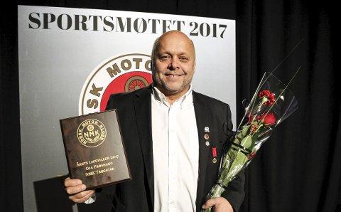 PRISVINNER: Ola Frøshaug ble hedret som årets lagspiller. FOTO: NMK