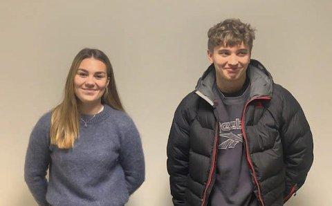 VOKSNE: Både Martine Burås (18) og Sigurd Eek (18) har fylt atten i 2020 og tredd inn i de voksnes rekker.