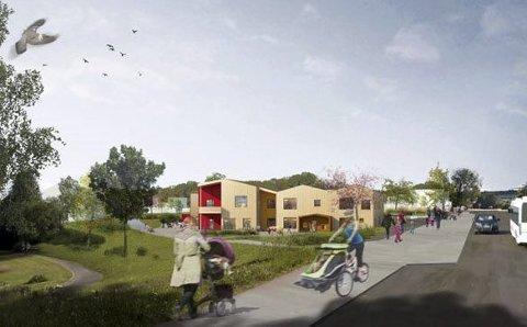 SØKERE: Åtte har søkt stillingen som styrer i nye Duestien barnehage.