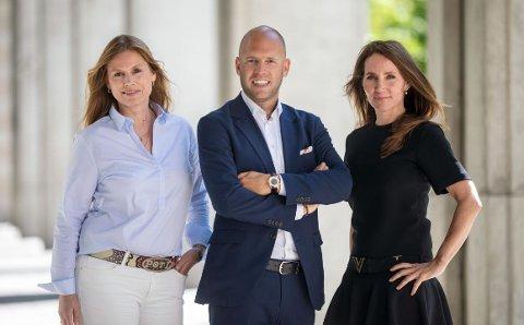 Elisabeth Vikenes, Emil Eriksrød og Marianne Wollan. Foto Kimm Saatvedt